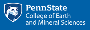 penn state college of earth minerals sciences logo